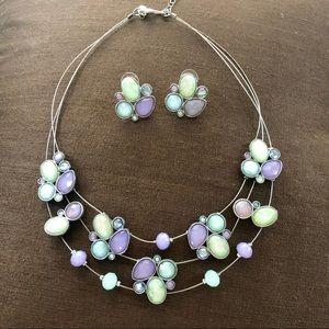"Gemstone Necklace 16"""